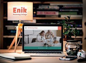 Enik heeft een gloednieuwe website!