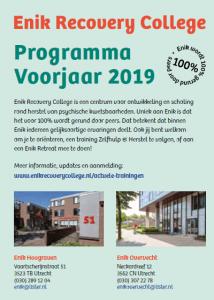Programma Voorjaar 2019 van start