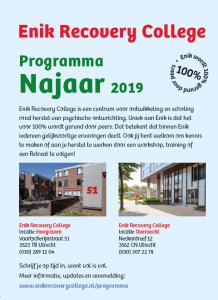 Programma Najaar 2019 van start