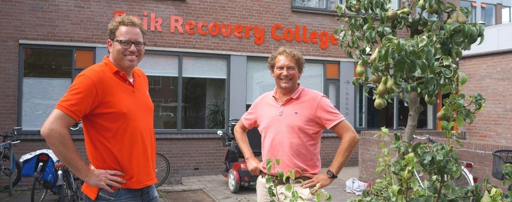 Oprichters Martijn Kole en Ton Verspoor