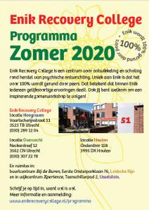 Programma Zomer 2020 van start!