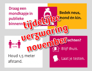 Extra maatregelen november (update)