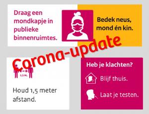 Corona-update: maatregelen verlengd