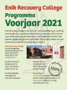 Programma Voorjaar 2021 van start!