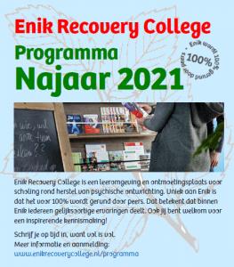 Programma Najaar 2021 van start!