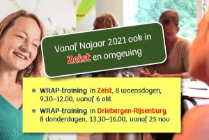 WRAP-trainingen in Zeist en omgeving